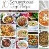10 Super Delicious Soup Recipes + MONDAY FUNDAY Link Party