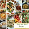8 Yummy Soup and Salad Recipe Ideas #MondayFundayParty