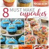 8 Must Make Cupcakes #MondayFundayParty