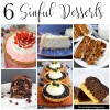 6 Simply Sinful Dessert Recipe Ideas