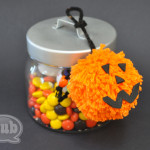 pumpkin pom pom gift