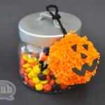 pumpkin pom pom gift