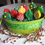 xmas cookie pop basket