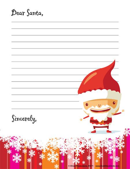 Santa Letter Printables a Letter Off to Santa