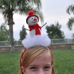 Maggie Snowman Headband preview