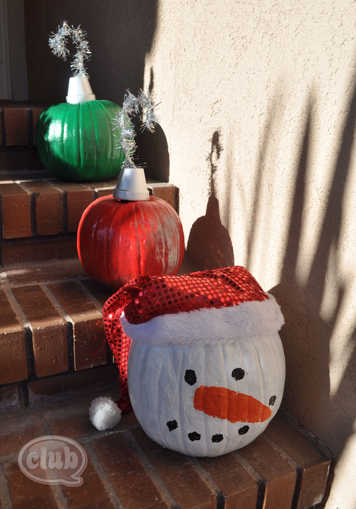 Holiday pumpkins re purposed for How to decorate a pumpkin for thanksgiving
