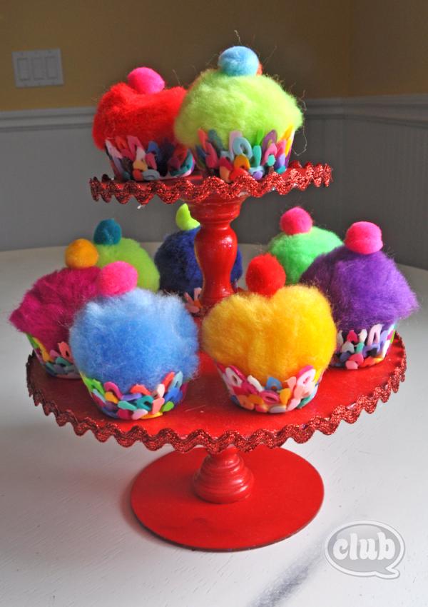 La tecnica del horno Melted-bead-cupcake-stand