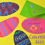 chalkboard egg cards