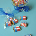 Chocolate flags