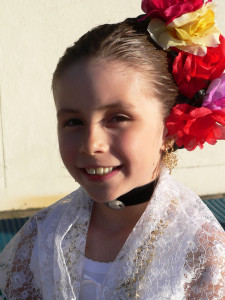 Our tween is ready to dance for Cinco de Mayo
