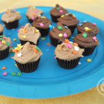 peanut butter cup mini cupcakes copy