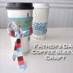 Father's Day Coffee Sleeve Craft