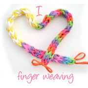 I heart finger weaving feature
