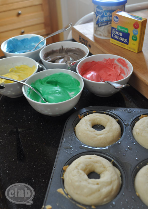 Olympic Ring Donuts