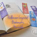 Halloween bookmarks club chica