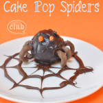 Cake Pop Spiders on Spider Plate