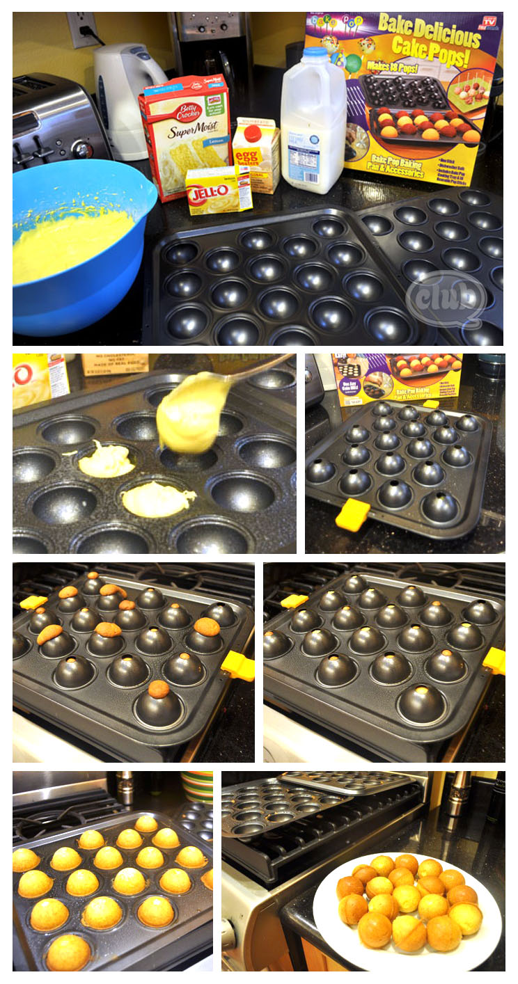 Cake Pop Recipe With Cake Pop Pan