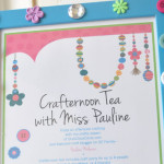 Crafternoon tea feature
