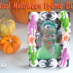 Halloween frame craft DIY feature