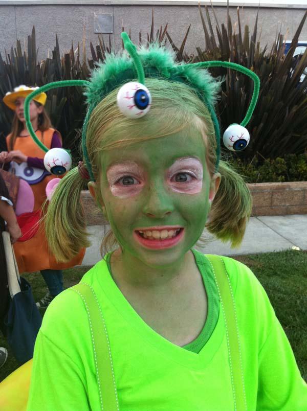 Diy Cute Alien Costume Easy Homemade Ideas