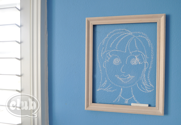 Crafting With Decoart Clear Chalkboard Coating