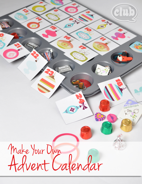 Advent Calendar Craft Kindergarten : Make your own advent calendar and free printable