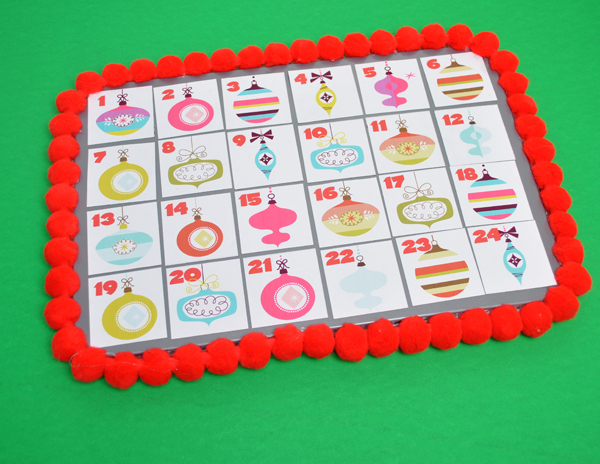 Make Your Own Advent Calendar and FREE Printable   Club Chica Circle ...