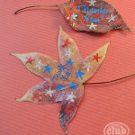 Thankful Leaves craft