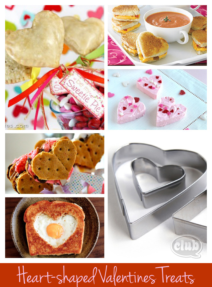 Heart Shaped Valentines Treats