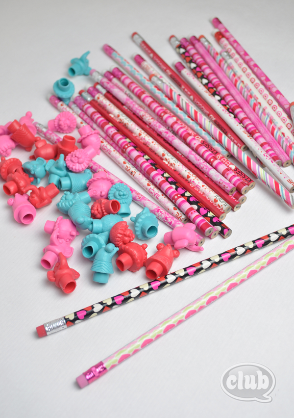 Homemade Valentines Pencil Gift Idea