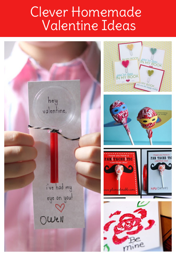 Get creative with homemade valentines for Valentines day creative gifts