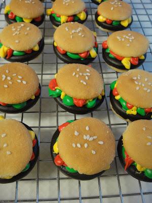 Hamburger Girl Scout Cookies