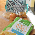 Green Giant Sweet Potato chips for kids lunch