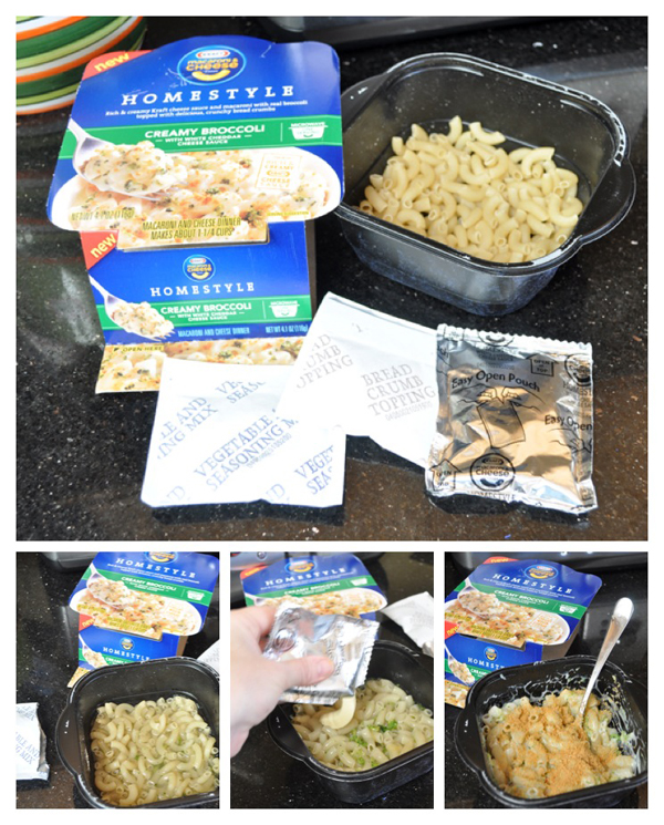 Kraft homestyle mac and cheese directions