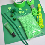 St. Patricks day craft supplies