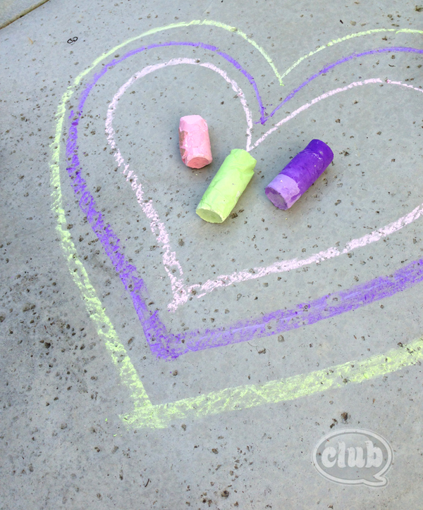 Toilet paper tube homemade sidewalk chalk copy