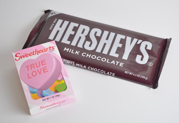Valentines minecraft candy