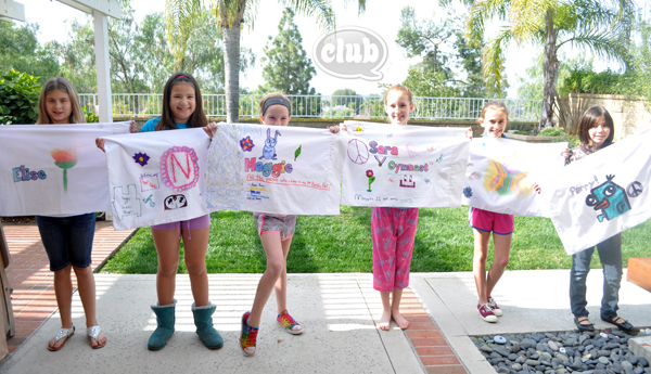 tween slumber party pillow case craft @clubchicacircle