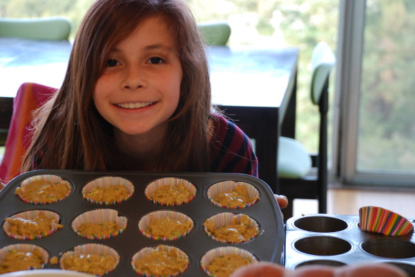 BEST Pumpkin Zucchini Muffin - Tins Filled