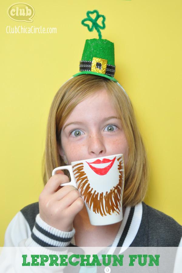 Leprechaun crafting fun