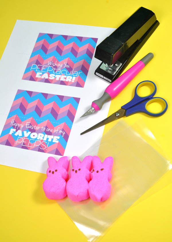Peeps free printable supplies