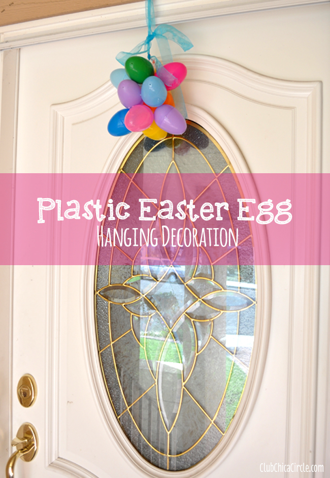 Plastic Easter Egg Door decoration