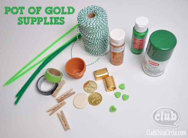 Pot of Gold craft supplies 2