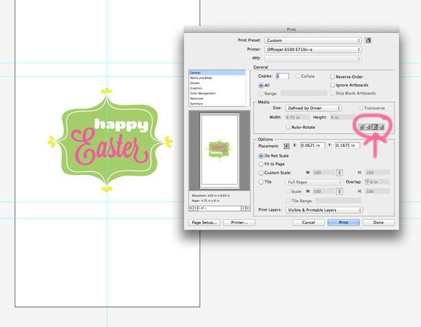 paper bag printing print example
