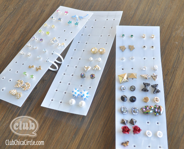 Easy Earring Organizer Craft Idea | Tween Craft Ideas for Mom and ...