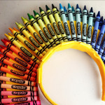 Crayola crayon headband craft feature