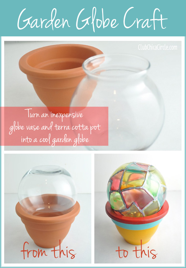 Garden Globe Craft Idea @clubchicacircle