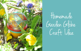 Garden Globe Painted Craft Idea feature