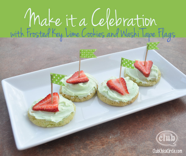 Key Lime Cookies Celebration