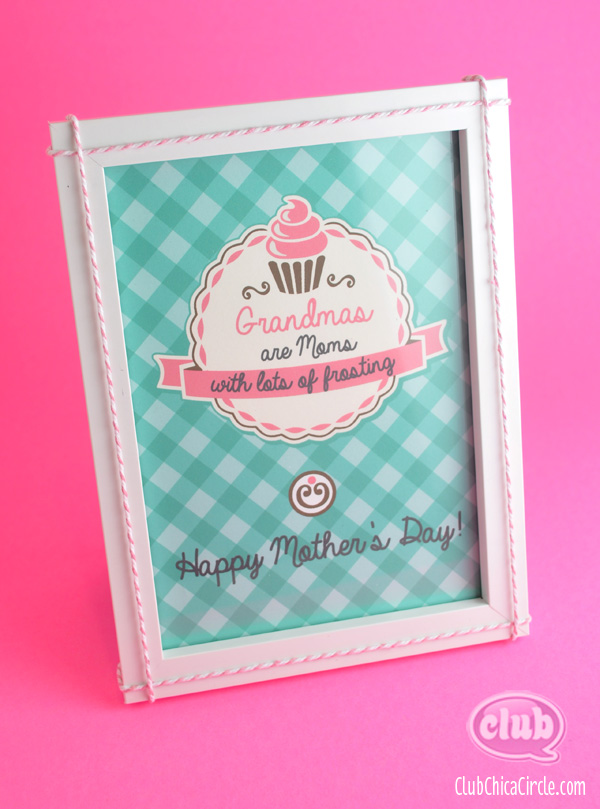 Mother's Day Homemade Gift Idea for Grandma